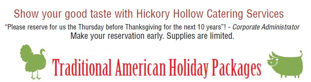 Hickory Hollow Holiday Catering